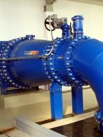 robinet de reglare debit cu disipator energetic